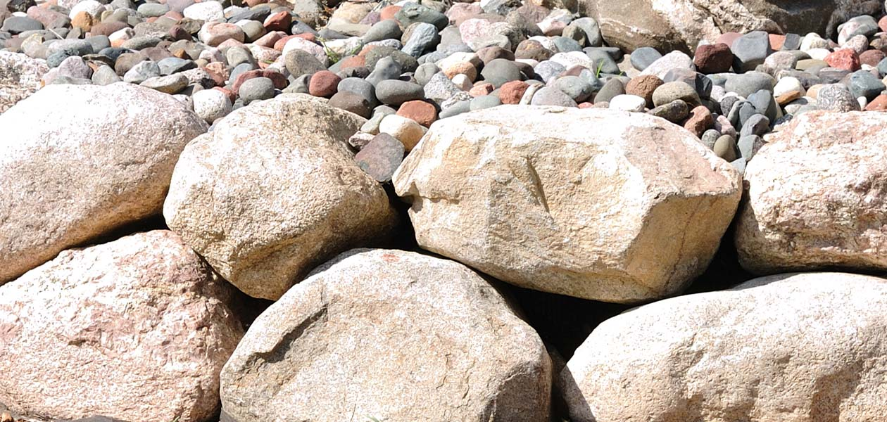 idaho landscape rock boulders and stone supplier